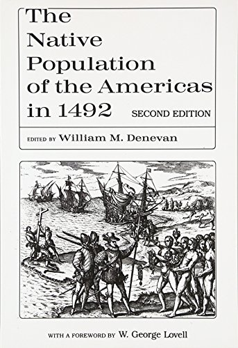9780299134341: The Native Population of the Americas in 1492