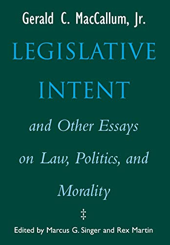 morality law and politics essay Moral matters, jan narveson - morality, law, and politics.