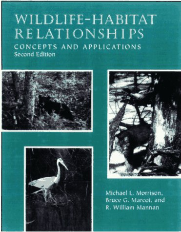9780299156404: Wildlife-Habitat Relationships: Concepts and Applications