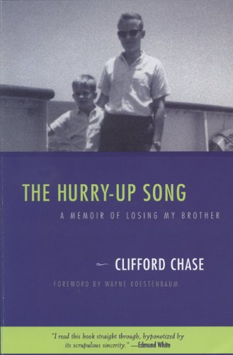 9780299166243: The Hurry-up Song: A Memoir of Losing My Brother (Living Out: Gay and Lesbian Autobiographies)
