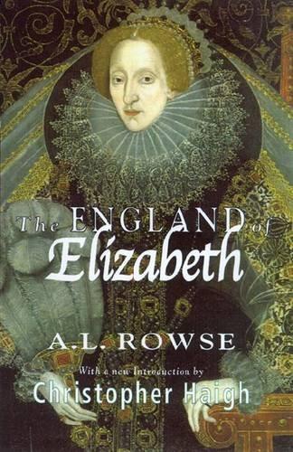 9780299188146: The England of Elizabeth