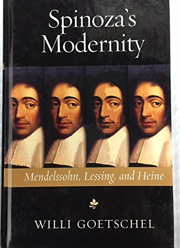 9780299190804: Spinoza's Modernity: Mendelssohn, Lessing, and Heine (Studies in German Jewish Cultural History and Literature)