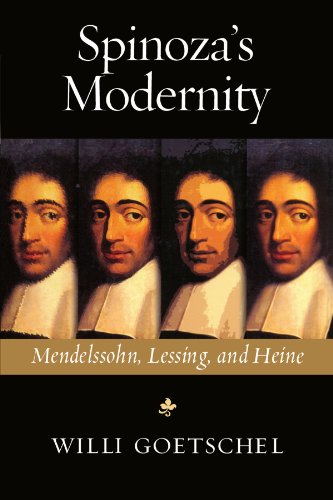 9780299190842: Spinoza's Modernity: Mendelssohn, Lessing, and Heine (Studies in German Jewish Cultural History & Literature)