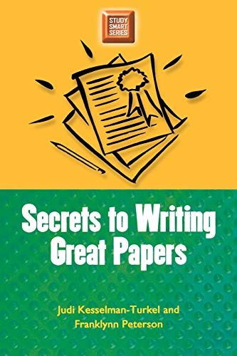 9780299191443: Secrets to Writing Great Papers (Study Smart Series)