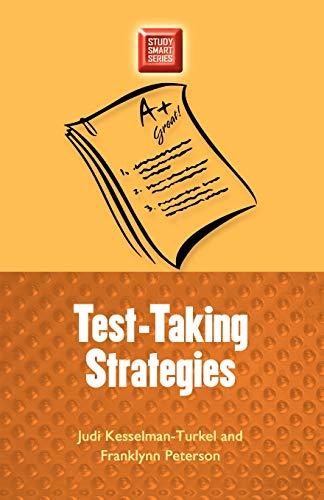 Test-taking Strategies (Study Smart): Kesselman-Turkel, Judi