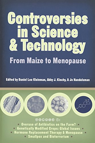 9780299203948: Controversies in Science and Technology: From Maize to Menopause (Science and Technology in Society) (v. 1)