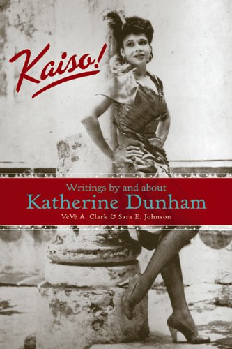 9780299212704: Kaiso!: Writings by and about Katherine Dunham (Studies in Dance History)