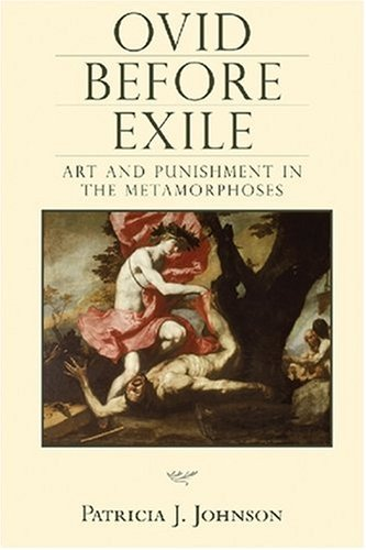9780299224004: Ovid before Exile: Art and Punishment in the Metamorphoses (Wisconsin Studies in Classics)