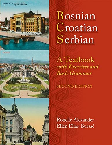 9780299236540: Bosnian, Croatian, Serbian, a Textbook: With Exercises and Basic Grammar [With CD (Audio)]