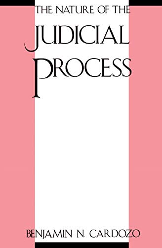 9780300000337: The Nature of the Judicial Process (The Storrs Lectures)