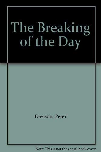 9780300000542: The Breaking of the Day