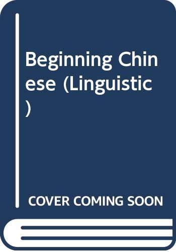 9780300000559: Beginning Chinese