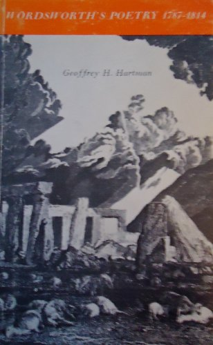 9780300001082: Wordsworth's Poetry, 1787-1814