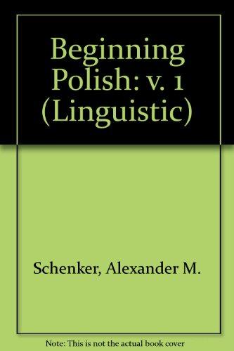 9780300002232: Beginning Polish: v. 1