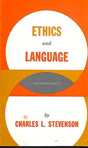 9780300002348: Ethics and Language