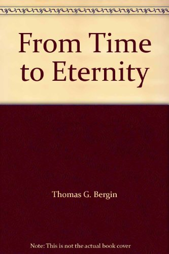 9780300003048: From Time to Eternity