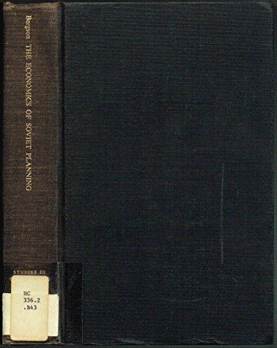 9780300003055: Economics of Soviet Planning