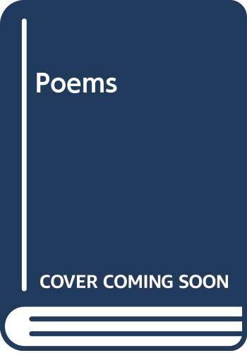 9780300003406: Poems