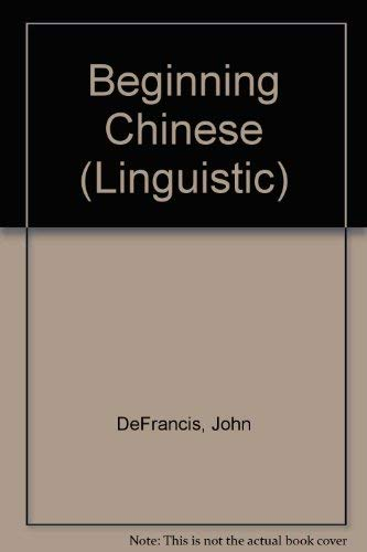 9780300004052: Beginning Chinese: Revised Edition