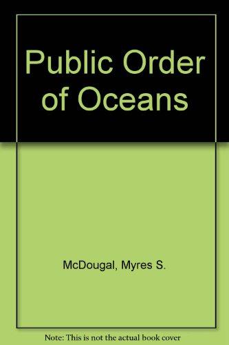 9780300007411: Public Order of Oceans