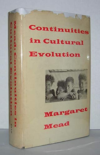 9780300007626: Continuities in Cultural Evolution (Terry Lectures)
