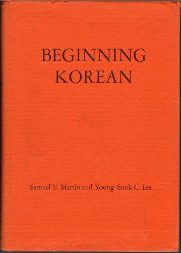 9780300007756: Beginning Korean (Linguistic)