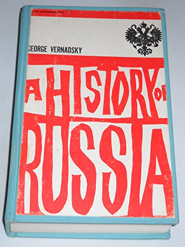 9780300010107: History of Russia