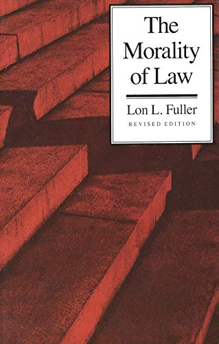 9780300010701: The Morality of Law: Revised Edition (The Storrs Lectures Series)