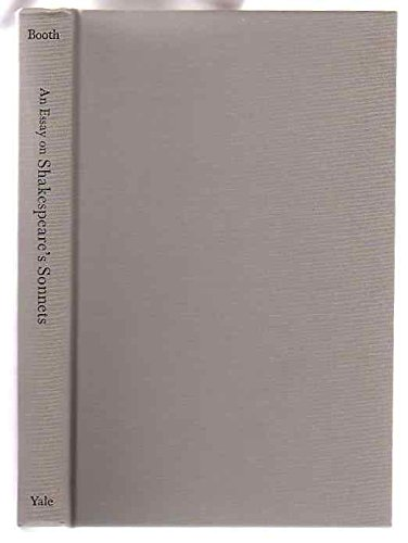 9780300011005: An Essay On Shakespeare's Sonnets