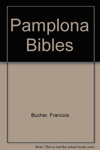 9780300011876: Pamplona Bibles