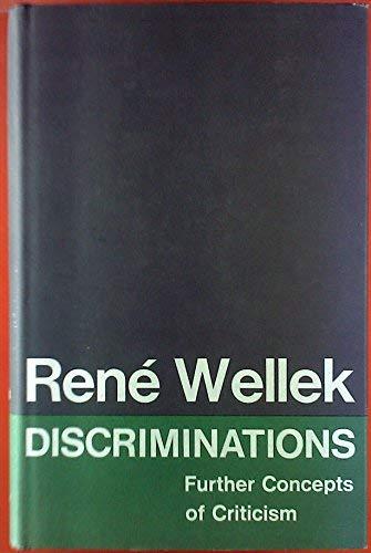 9780300012309: Discriminations: Further Concepts of Criticism