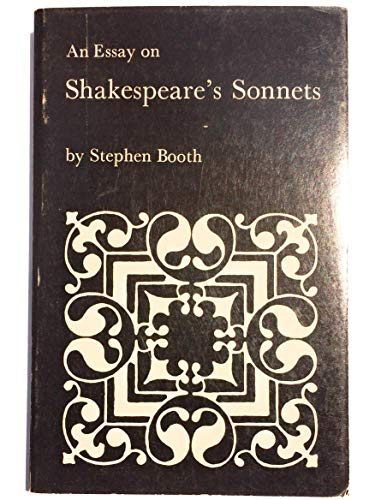 9780300015140: An Essay on Shakespeare's Sonnets