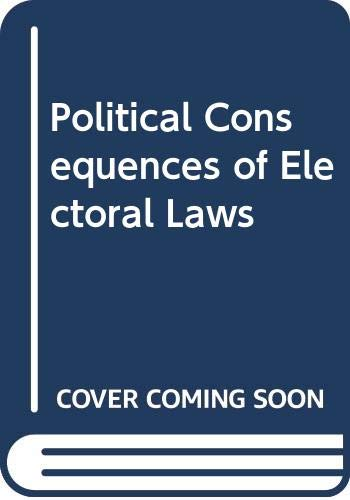 9780300015171: Political Consequences of Electoral Laws