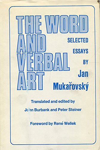 The Word and Verbal Art: Selected Essays (Yale Russian & East European Studies) (English and ...