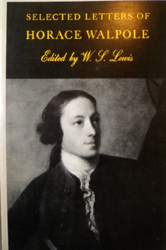 9780300016697: Selected Letters of Horace Walpole