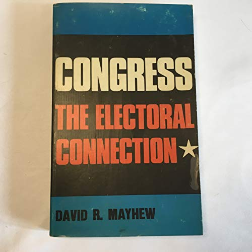 9780300017779: Congress: The Electoral Connection (Studies in Political Science)