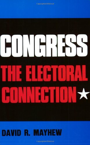 9780300018097: Congress: The Electoral Connection (Yale Studies in Political Science)