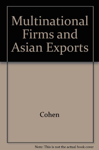 9780300018127: Multinational Firms and Asian Exports