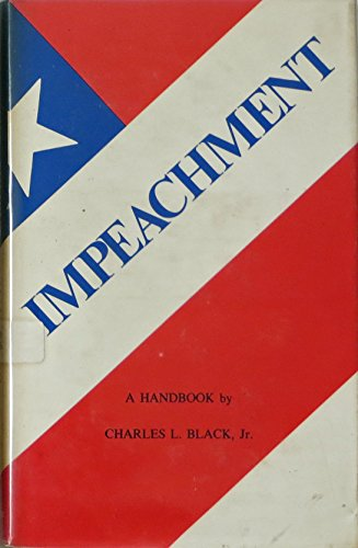 9780300018189: Impeachment: A Handbook