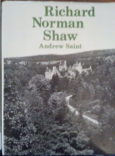 9780300019551: Richard Norman Shaw (Studies in British Art)