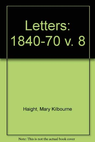 9780300019681: 008: George Eliot Letters
