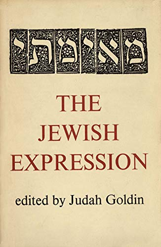 9780300019759: The Jewish Expression (A Yale paperbound)