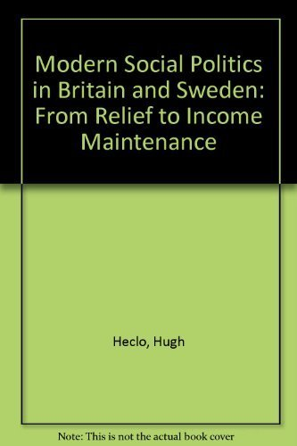 Modern Social Politics in Britain and Sweden: From Relief to Income Maintenance: Hugh Heclo