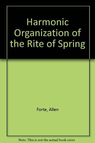 9780300022018: Harmonic Organization of the