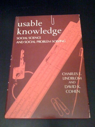 9780300023350: Usable Knowledge