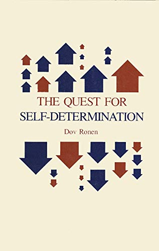 9780300023640: The Quest for Self-Determination (Study in Political Science S)
