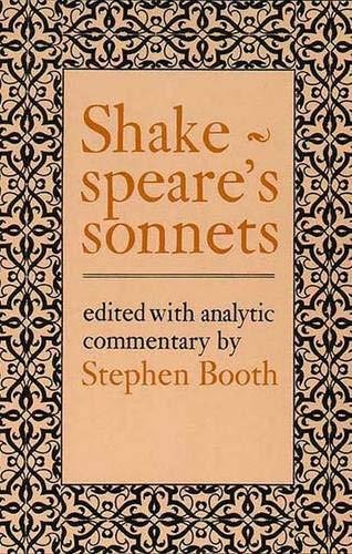 9780300024951: Shakespeare's Sonnets (Y-356)