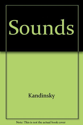 Sounds. Translated and with an Introduction by Elizabeth R. Napier