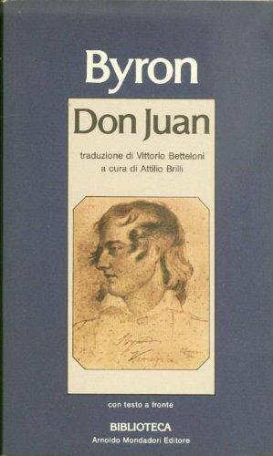 9780300026863: Don Juan; a cura di Attilio Brilli Testo originale a fronte