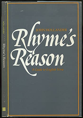 9780300027358: Rhyme's Reason: A Guide to English Verse